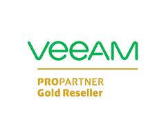 Veeam Pro Partner Gold Reseller