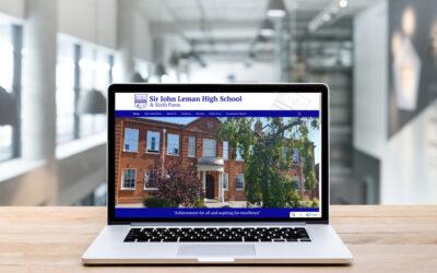 Sir John Leman High School re-invent their school image with a New Era website