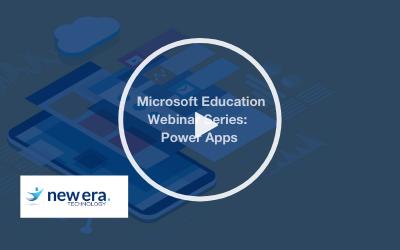 Webinar: Microsoft Education Webinar Series: PowerApps