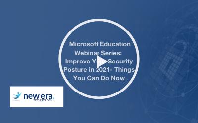 Webinar: Improve Your Security Posture in 2021