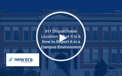 Webinar: 911 Dispatchable Location: What it is & How to Report it in a Campus Environment