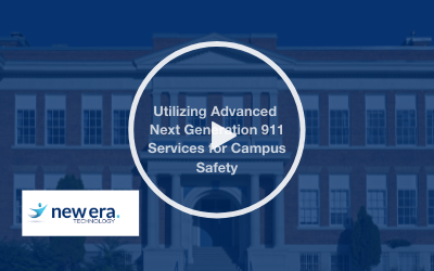 Webinar: Utilizing Advanced Next Generation 911 Services for Campus Safety