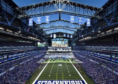 Lucas Oil Stadium Interior