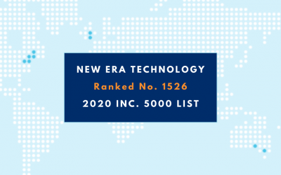 New Era Technology Ranks No. 1526 on the 2020 Inc. 5000 List
